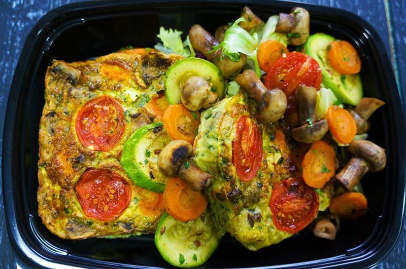 Фритата с овощами
